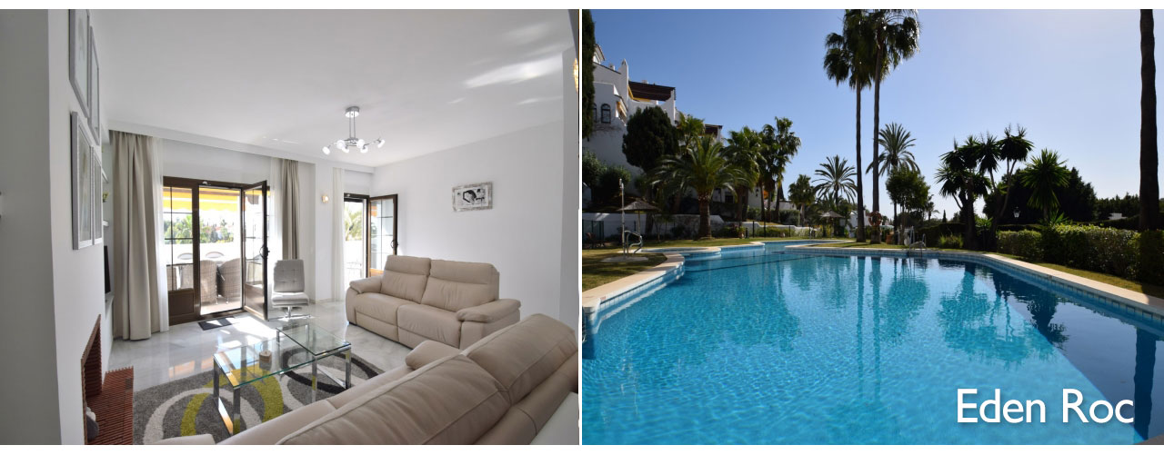 Luxury apartment interior in Puerto Banus